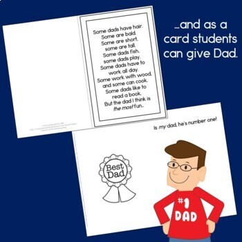 Some Dads easy reader and Fathers' Day card