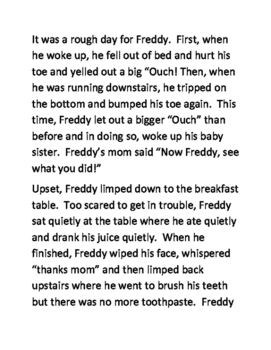 Some Days are just like that, Freddy