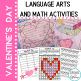 Valentine's Day Activities and Worksheets for Literacy and Math