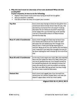 Some Lessons are Hard to Learn - Literary Text Test Prep