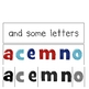 Some Letters are Small