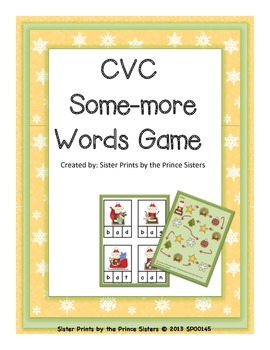 Some More CVC Words Game