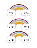 """Some """"Number"""" Over the Rainbow Math Center"""