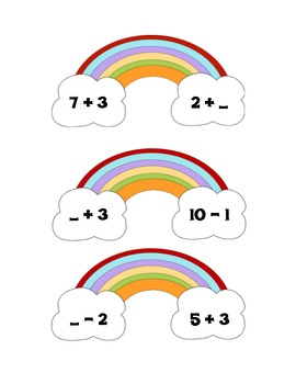 "Some ""Number"" Over the Rainbow Math Center"