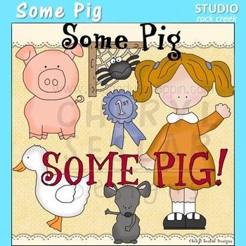 Some Pig Story Clip Art C. Seslar