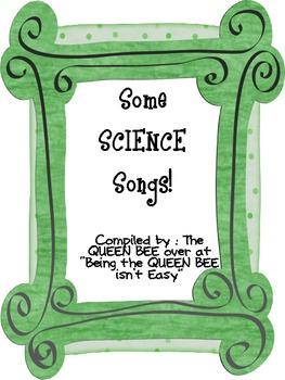 Some SCIENCE songs
