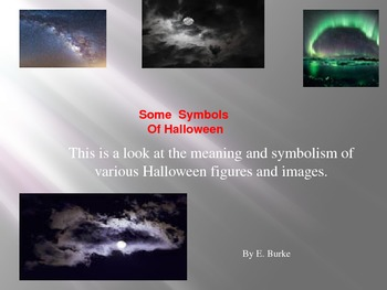 Some Symbols Of Halloween