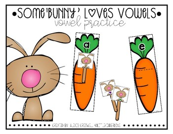 Some'bunny' Loves Vowels