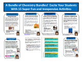 Big Bundle 1: Chemistry Activities