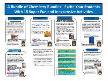 Big Bundle 1: Chemistry Activities