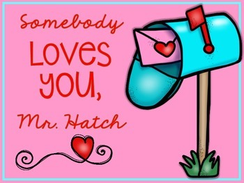 Somebody Loves You, Mr. Hatch {Book Companion}