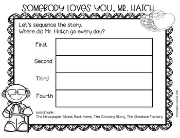Somebody Loves You, Mr. Hatch Book Companion