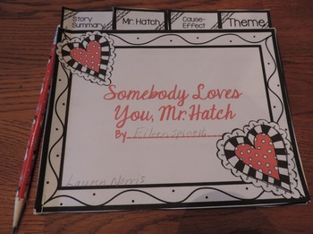 Somebody Loves You Mr. Hatch Reader Response Flip Book