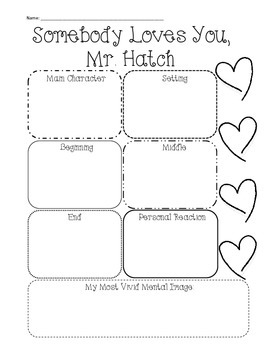 Somebody Loves You, Mr. Hatch: Story Activies