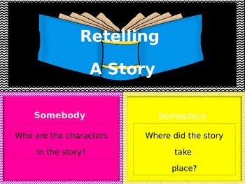Somebody-Wanted-But-So: Retelling A Story