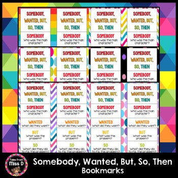Somebody Wanted But So Then Bookmarks