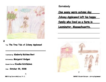 Summary/Retell-SWBST- Complete Booklet - Literacy Response Journal
