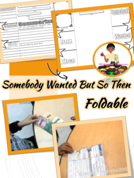 Somebody Wanted But So Then Foldable (Interactive)