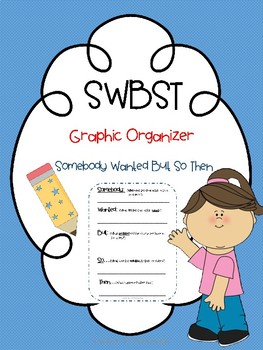 Somebody Wanted But So Then Graphic Organizer/SWBST