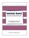 Somebody Wanted: Summarizing Big Bookmark