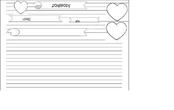 Somebody loves you,