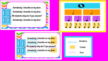 Somebody's Knockin' On My Door: A Song to practice Syncopa