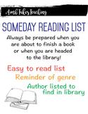 Someday Reading List