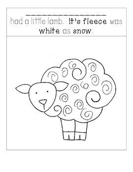 Someone had a little lamb