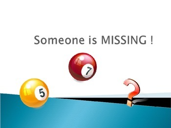 Someone is MISSING !