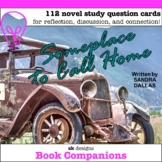 Someplace to Call Home Novel Study Questions - Google Slid