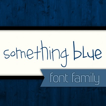 Something Blue Font Family for Commercial Use