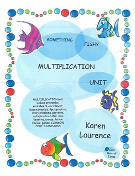 Something Fishy Multiplication Unit - complete with printables