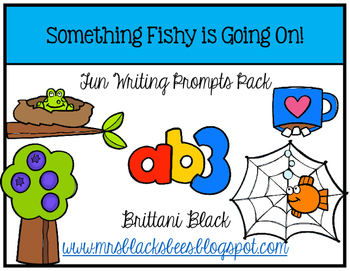 Something Fishy is Going On~ Writing Pack