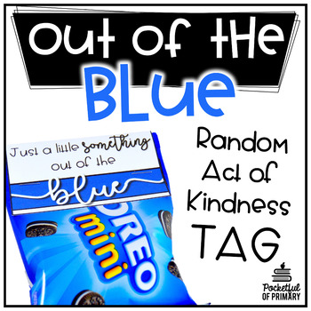 Something Out of the Blue Tag | FREEBIE