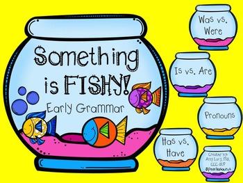 Something is Fishy: Early Grammar