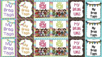Something to Brag {Tag} About: Cover Tags FREEBIE