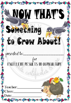 Something to Crow About!