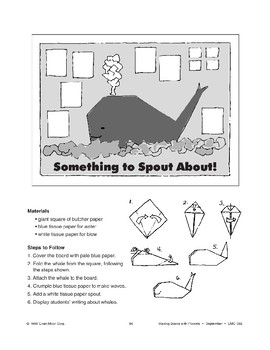 Something to Spout About! Bulletin Board