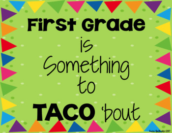 Something to TACO' bout Bulletin Board