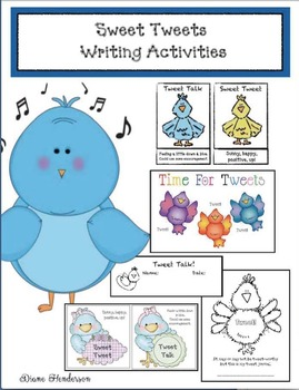 "Free ""Something to Tweet About!"" Writing Activities"