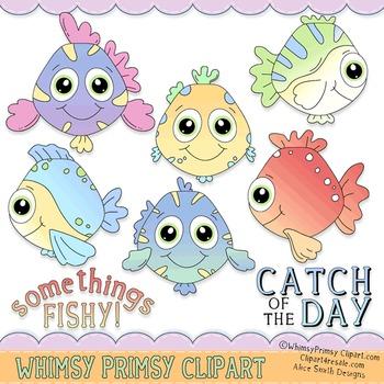 Somethings Fishy (Coloring 1)