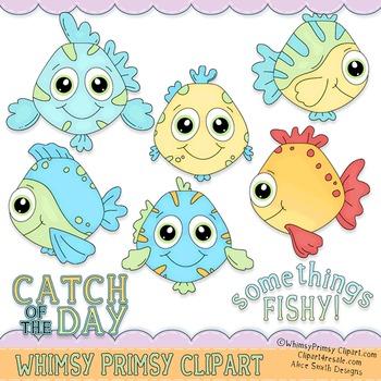 Somethings Fishy (Coloring 2)