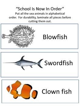 Something's Fishy Ocean Unit
