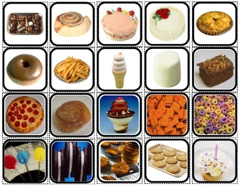 """""""Sometime Or Anytime Foods?"""" Sorting for Autism"""