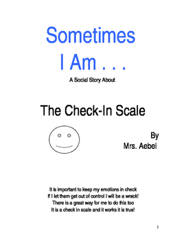 Sometimes- Check-In Scale