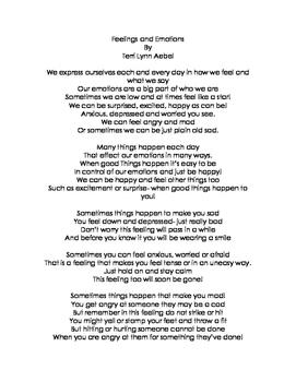 Sometimes- Feelings and Emotions Poem