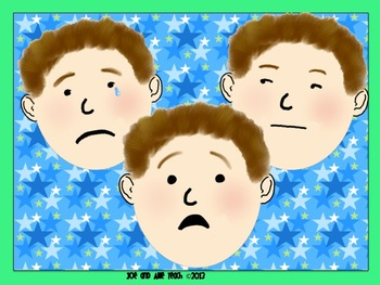 Sometimes I Feel... Feelings and Emotions Clip Art