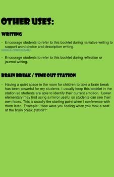 Sometimes I feel...  Helping children identify emotions