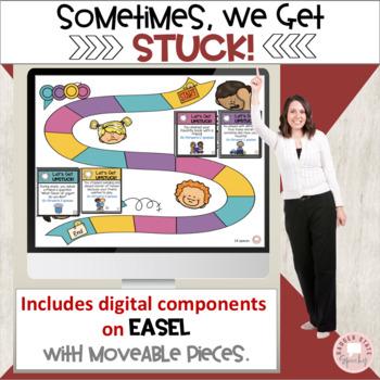 Sometimes, We Get Stuck Bundle of 2 Social Skills Products!