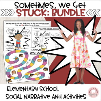Sometimes, We Get Stuck Bundle of 2 Social Skills Products!